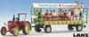 Kibri 12226 H0 Lanz tractor with parade trailer